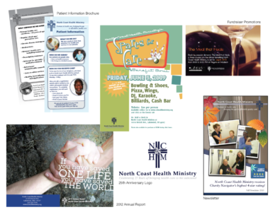 North Coast Health Ministry Promotional Materials (Various)