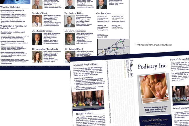 Podiatry Inc. Brochure