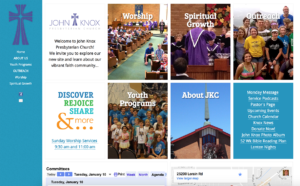 John Knox Presbyterian Church website (2016 Version)