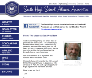 Columbus South High Alumni Association (Pro Bono)