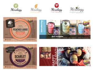 Mixology Marmalades Branding, Labels, and Promotional Work