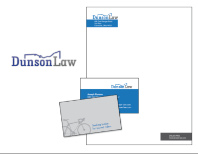 Brand Package for Dunson Law, LLP.