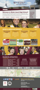 Walsh Jesuit High School Website (Updated 2015 Version)