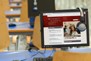 Walsh Jesuit High School Website (2013 Version)